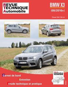Revue Technique BMW X3 diesel 20d 184 ch (depuis 09/2010)