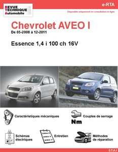 fiche technique chevrolet aveo auto titre. Black Bedroom Furniture Sets. Home Design Ideas
