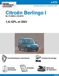 Revue Technique Citroën Berlingo I GPL et GNV
