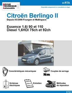 Revue Technique Citroën Berlingo II