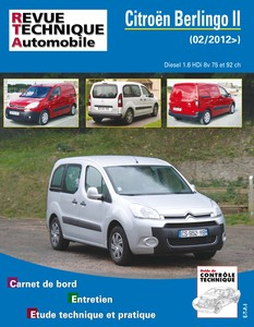 Revue Technique Citroën Berlingo II diesel