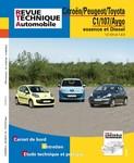 Revue Technique Citroën C1, Peugeot 107 et Toyota Aygo