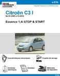 Revue Technique Citroën C3 I STOP & START de 01-2005 à 12-2010