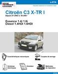 Revue Technique Citroën C3 I X-TR Essence et Diesel