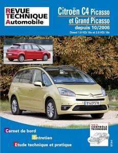 Revue Technique Citroën C4 Picasso et C4 Grand Picasso