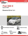 Revue Technique Fiat 500 Essence 0,9 - 1,4 i