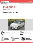 Revue Technique Fiat 500 Essence 0,9 - 1,4 i
