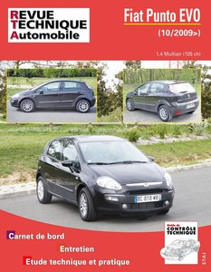 Revue Technique Fiat Punto Evo multiair 105 ch