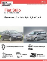 fiche technique fiat stilo 1 9 jtd 115 5p auto titre. Black Bedroom Furniture Sets. Home Design Ideas