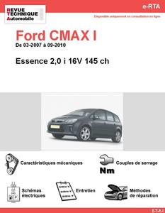 Revue Technique Ford C-Max I essence