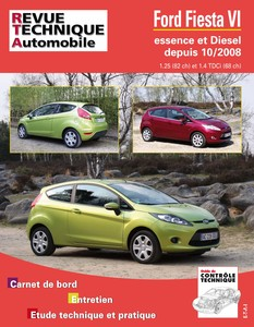 Revue Technique Ford Fiesta VI