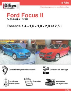 Revue Technique Ford Focus II essence