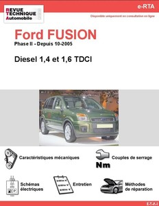 Revue Technique Ford Fusion diesel