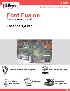 Revue Technique Ford Fusion essence