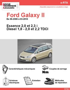 Revue Technique Ford Galaxy II