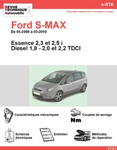 Revue Technique Ford S-Max