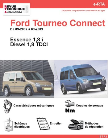 Revue Technique Ford Tourneo Connect
