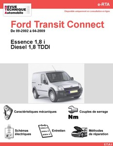 Revue Technique Ford Transit Connect