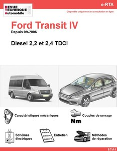 Revue Technique Ford Transit diesel
