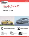 Revue Technique Honda Civic VII diesel