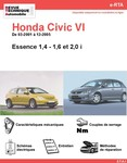 Revue Technique Honda Civic VII essence