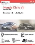 Revue Technique Honda Civic VIII essence