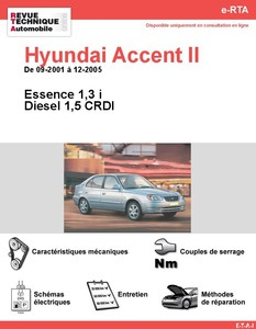 Revue Technique Hyundai Accent II