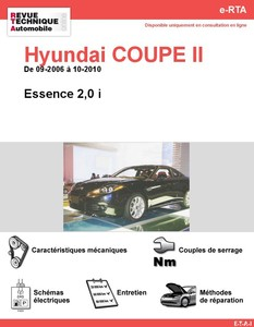 Revue Technique Hyundai Coupé II essence