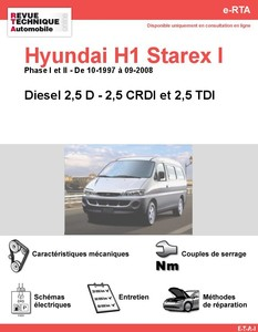 Revue Technique Hyundai Satellite I diesel