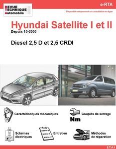 Revue Technique Hyundai Satellite I et II diesel
