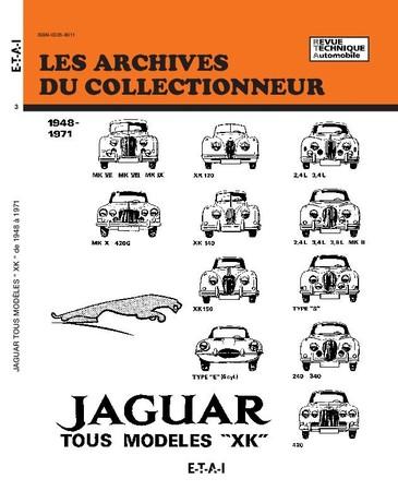 Revue Technique Jaguar XK-MK-TYPE E
