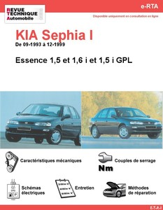 Revue Technique Kia Sephia I essence