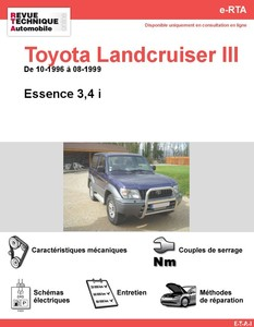 Revue Technique Land Cruiser 100 essence