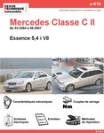 Revue Technique Mercedes Classe C W203 essence V8