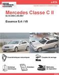 Revue Technique Mercedes Classe C W203 essence V8