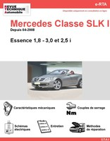 fiche technique mercedes classe slk r170 auto titre. Black Bedroom Furniture Sets. Home Design Ideas