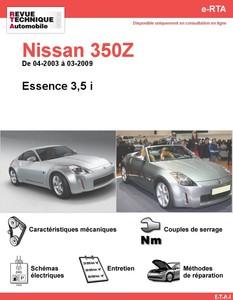 Revue Technique Nissan 350Z