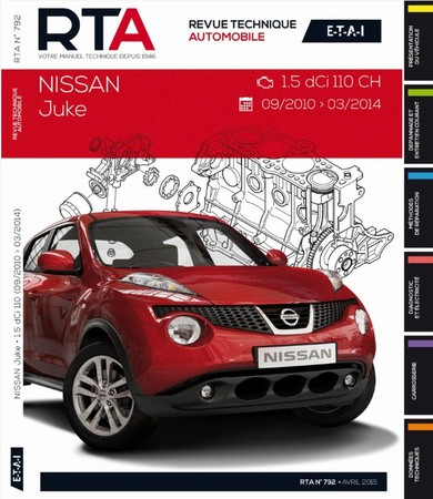 revues techniques nissan juke auto titre. Black Bedroom Furniture Sets. Home Design Ideas