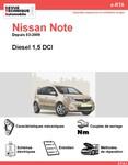 Revue Technique Nissan Note I diesel