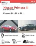 Revue Technique Nissan Primera II essence