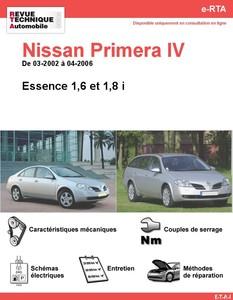 Revue Technique Nissan Primera III essence