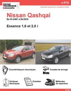 Revue Technique Nissan Qashqai essence