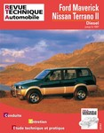 Revue Technique Nissan Terrano II, Ford Maverick