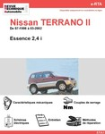 fiche technique nissan terrano ii 2 7tdi long auto titre. Black Bedroom Furniture Sets. Home Design Ideas