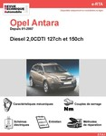 Revue Technique Opel Antara diesel