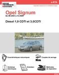 Revue Technique Opel Signum diesel