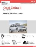Revue Technique Opel Zafira B diesel