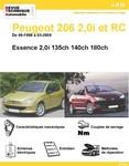 Revue Technique Peugeot 206 2,0i S16 et RC