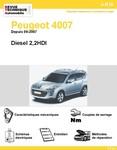 Revue Technique Peugeot 4007 Diesel 2,2HDI