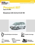 Revue Technique Peugeot 807 Essence